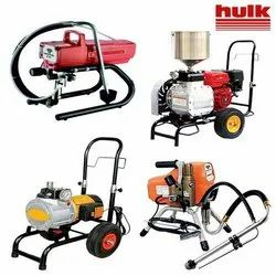 Airless Putty Spraying Machines