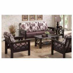 Modern Wooden Sofa Set