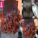 Burgendy Hair Colour Services
