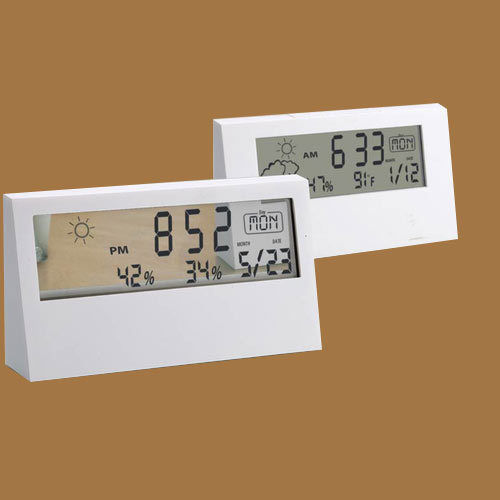 sharp weather station. sharp weather station clock -