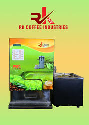 Live Tea And Coffee Vending Machine