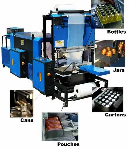 Minipack, Thane - Exporter of Automatic Shrink Wrapping Machines and