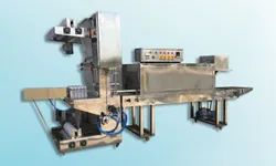 Automatic Pet Bottle Shrink Wrapping Machine (Capacity: 90 - 120 BPM)
