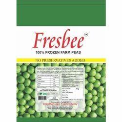 Fresbee 1 kg Organic Frozen Peas, Packaging: PP Bag