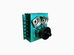 Sms Latest 2 Motor Vertical Rotary Head Gearbox