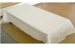 White KWALITEX Disposable Bed Sheet, for Hospital