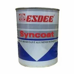Esdee Syncoat Heat Resistant Aluminum Paint, Packaging Type: Container