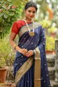 Handloom cotton Ikkat Saree