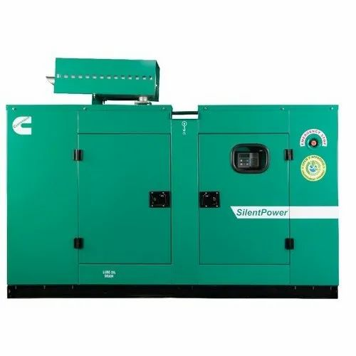 50 Hz Cummins 20 KVA Single Phase Silent Diesel Generator