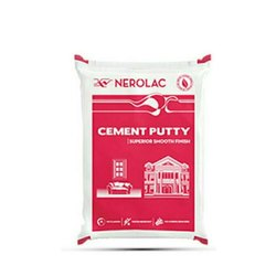 Nerolac Cement Wall Putty, Packaging Type: Packet