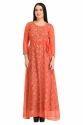 Cottinfab Women's Maxi Red Dress
