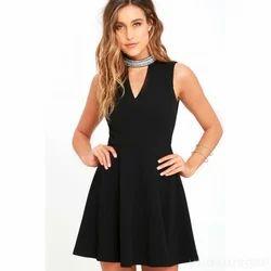 Plain Black Skater Dress 9b936306f