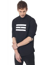 Full Sleeve Black Club Wear Shirt