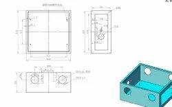 3 Ply Mask Machine Complete Design Set (3D Two-Dimensional Circuit Diagram Program Bom)