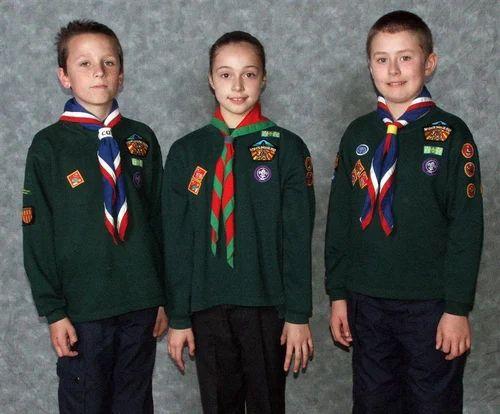scouts uniformen