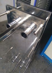 S.s Plate Type heat exchanger, 525mmx235mm