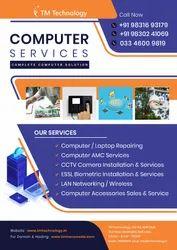 Aluminium Computer AMC Services, Type of AMC: Non-Comprehensive, On-Site