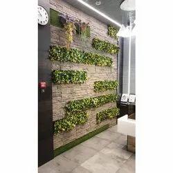 Green Plastic Indoor Vertical Garden