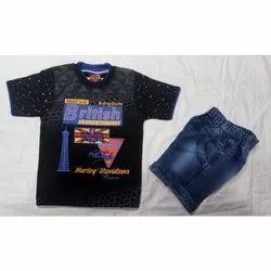 Kids T-Shirt With Half Pant