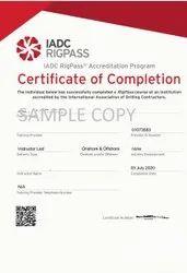 2 20 Rigpass IADC Program Certification