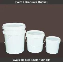 Jyoti Chemical Round Paint Bucket, Capacity: 20ltr 10ltr 5ltr