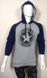 Mens Cotton Hooded T Shirt