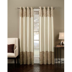 Printed Silk Designer Curtains for Window & Door