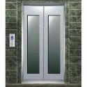Glass Elevator Door