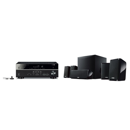 YAMAHA YSP-5600 B Front Surround System Black Home Theater Speaker Japan F//S