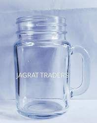 Glass Handle Jar 500 Ml