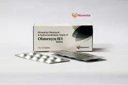 Olmesartan Medoxomil 20 mg& Hydrochlorothiazide 12.5 mg Tablets