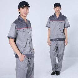 Industrial Worker Safety Uniform