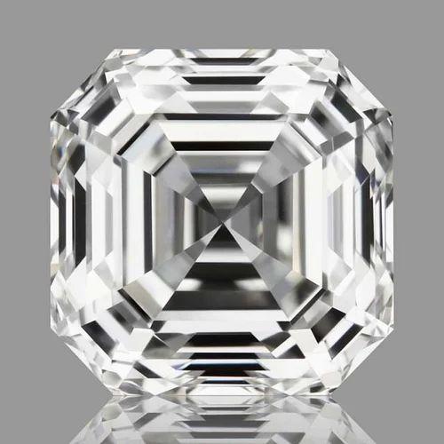 Asscher Cut Natural Diamonds GIA Certified at Rs 50000 ...