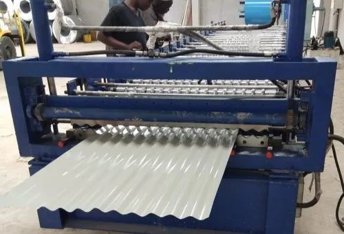Corrugated Metal Curved Roofing Sheet Making Machine