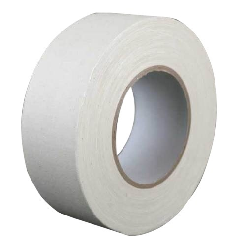 Black And White Single Side Waterproof Cotton Cloth Tape Sticol, For Packaging