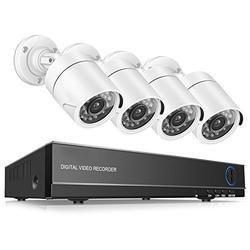 4 Channel CCTV Bullet Camera DVR Set