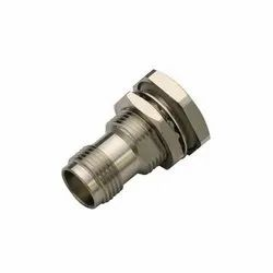 3AN TELECOM TNC Bulkhead Connector Straight Waterproof Jack Panel Seal For Cable, Contact Material: Brass
