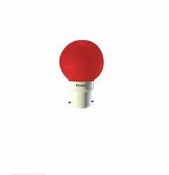 Pack Of 10 Fino LED Bulb 0.5w Red B22
