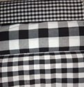 Poly Cotton Checks for Ladies Dresses 44