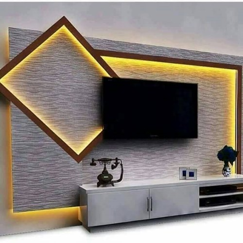 Wall Panel Tv Unit At Rs 130 Sq Ft Tv Wall Unit Id 21555655348