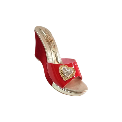 8f6bfb0c9133 Ladies Fancy Red Wedges