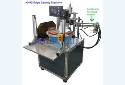N95 Mask Edge Bending / Sealing Machine