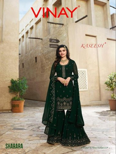 ac883128ef Vinay Fashion By Sharara Kaseesh Georgette Work By Pakistani Collection