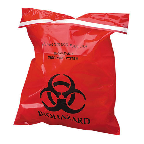 Red Medical Bio Waste Bags