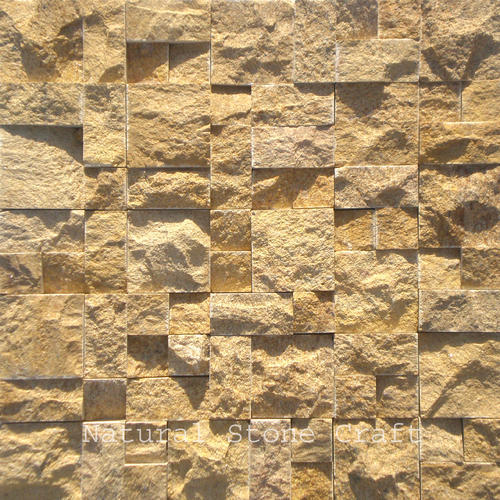 Natural Stone Mosaic Wall Tiles Thickness 15 20 Mm Size 300x300