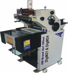 Om 4 Colour Fabric Bag Printing Machine, Sheet Fed