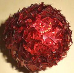 Reddish Christmas Ball