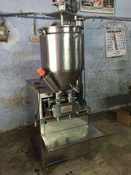 Bhavani Semi Automatic Chyawanprash Filling Machine, Capacity: 20 - 30 Jar Per Minute, 2kw