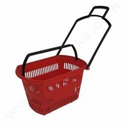 Supermarket Shopping Trolley Basket