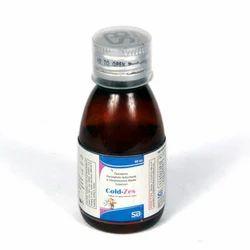 Paracetamol 125mg Phenylephrine 2.5mg Chlorpheniramine Syrup